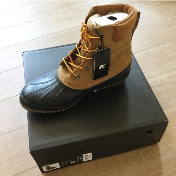 2592d3b8c2f SOREL Men's Cheyanne II Winter Waterproof Boot NEW NWT